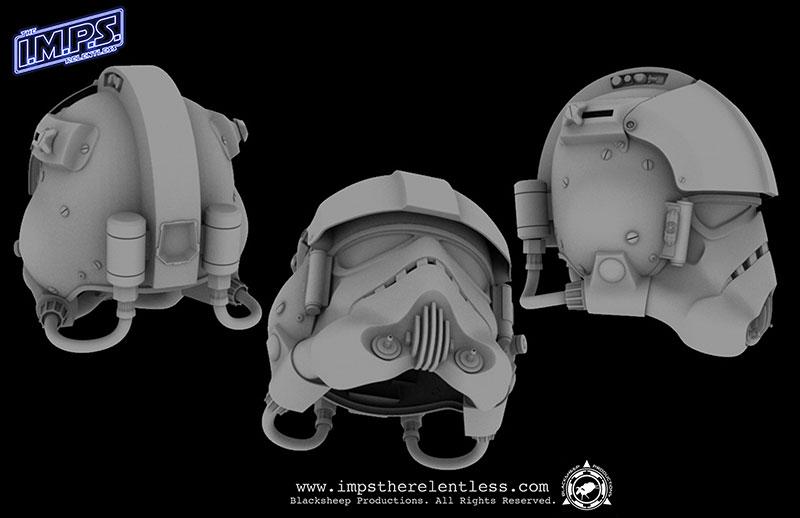 Blacksheep Flight Helmet CG Model